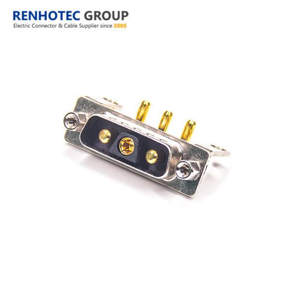 Right Angle (High) 저 (Current 암 남성 소지자 D-sub 2v2 3v3 커넥터
