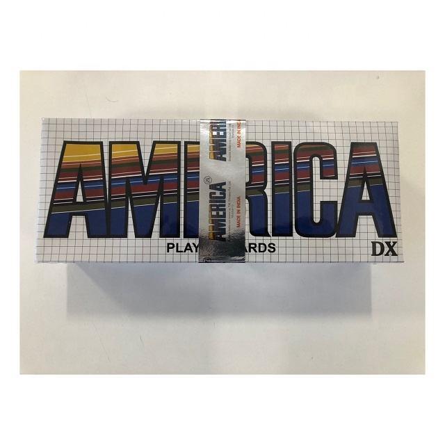 América <span class=keywords><strong>Marca</strong></span> de Cartões De Papel de Jogo em estoque