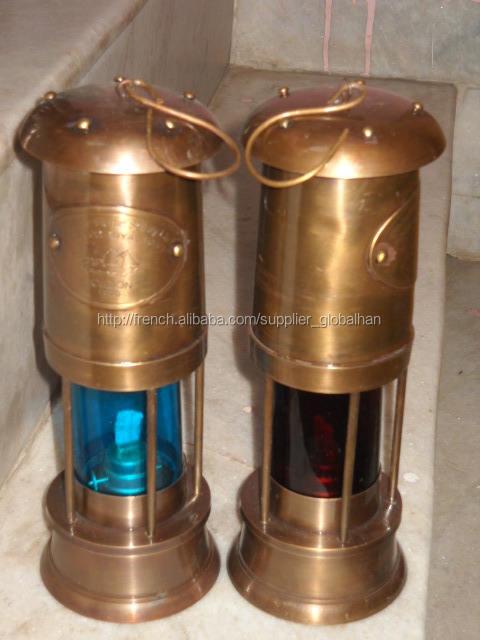 Lampe en laiton mariner, lampe de marin nautique, lampe de marin antique, lampes de décoration