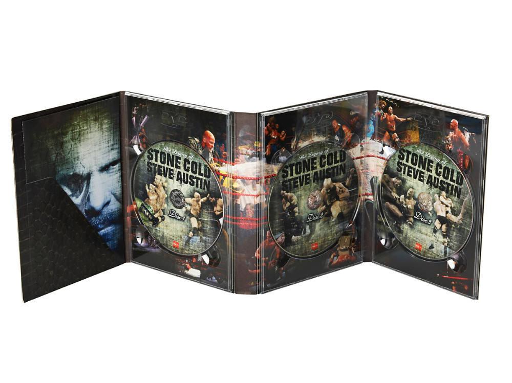 8 paneles DVDs Digipak para el IPAD