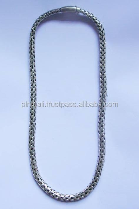 Barato de <span class=keywords><strong>piel</strong></span> de serpiente de la cadena con cierre de botón