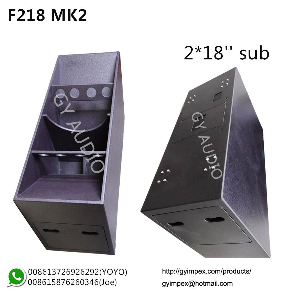 Funktion One, Bass 2*<span class=keywords><strong>18</strong></span>, <span class=keywords><strong>Subwoofer</strong></span> Dual <span class=keywords><strong>18</strong></span> Inci F218 MK2