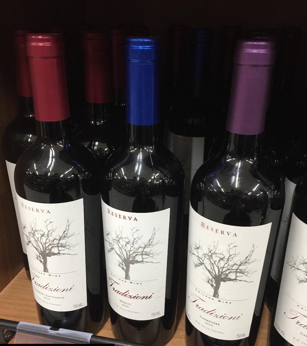 Quality Wine of Chile Tradizioni