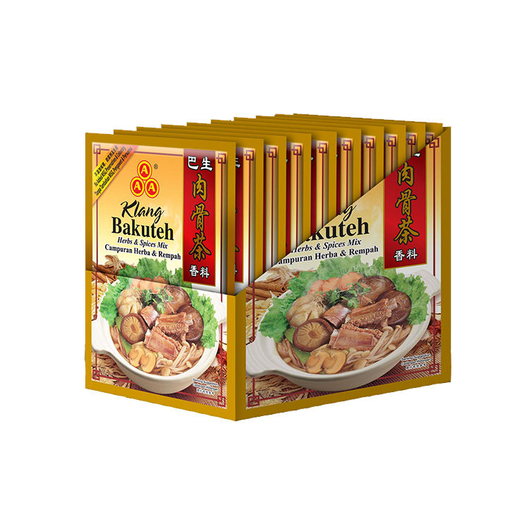 Malaysia Herbs Products 3A Klang Bakuteh Spices