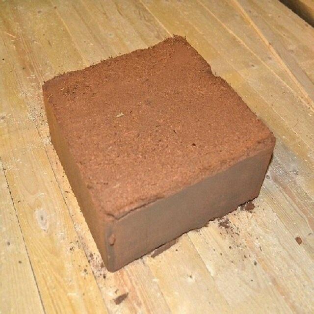 La turba de Coco para acondicionador de suelo y el suelo libre de sustrato