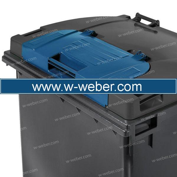 Евроконтейнеры для сбора отходов и мусора MGB 1100 литров - Контейнеры для ТБО марки Weber