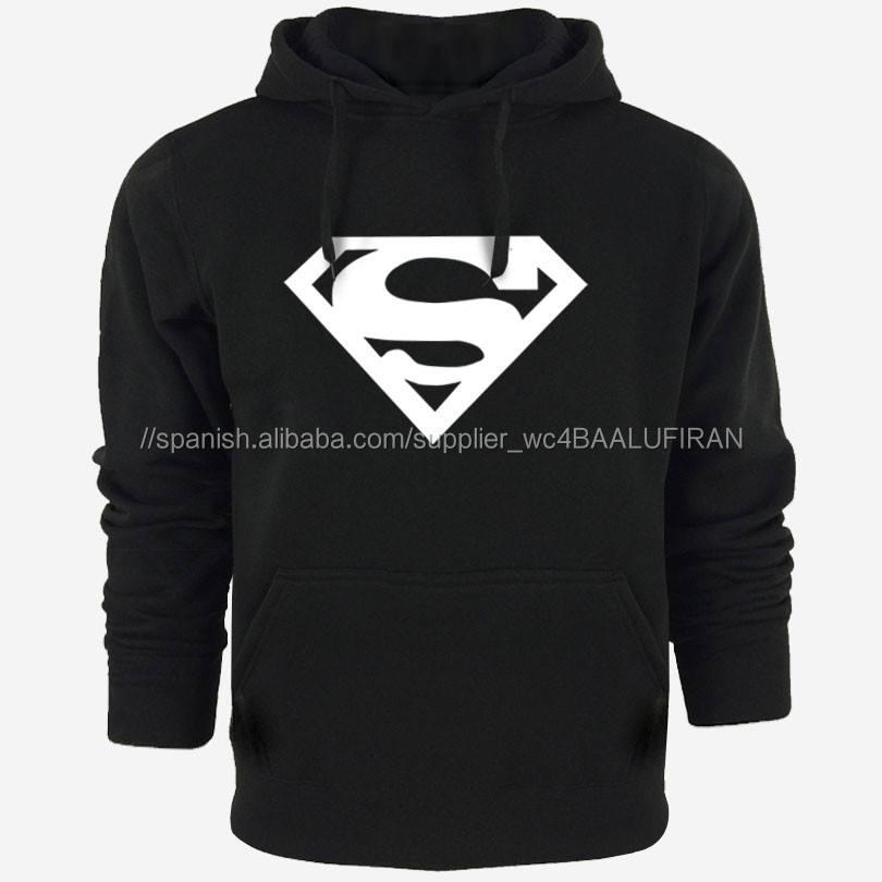 Superman Nueva Hoodies de Los Hombres Diseñador de la Marca de Los Hombres Hombres Sudadera con capucha Sudadera