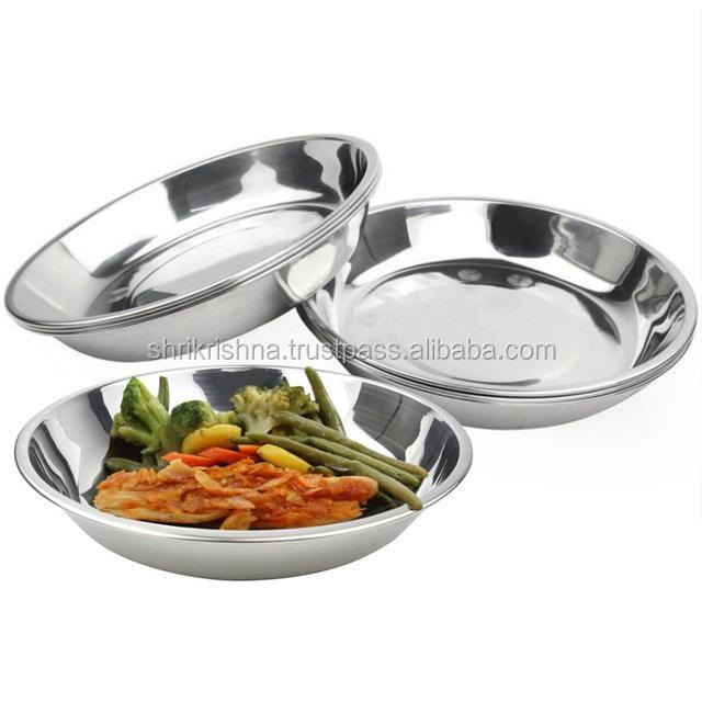 Ucuz Hint yemeği set 201 paslanmaz <span class=keywords><strong>çelik</strong></span> yemek tabakları