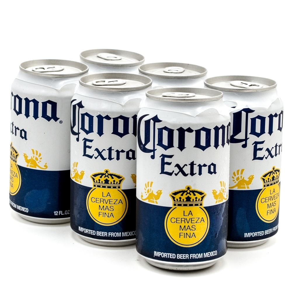 Corona Extra Mexican Lager Beer, 18 pk 355ml Cans, 4.5% ABV