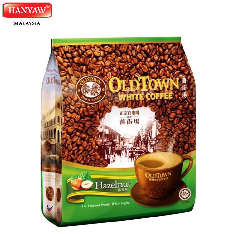 [Malaysia] Fast Shipping + Halal Certified OLDTOWN White Coffee Hazelnut Classic Instant Coffee (15 Bags x 38g x 15 Stick /Ctn)