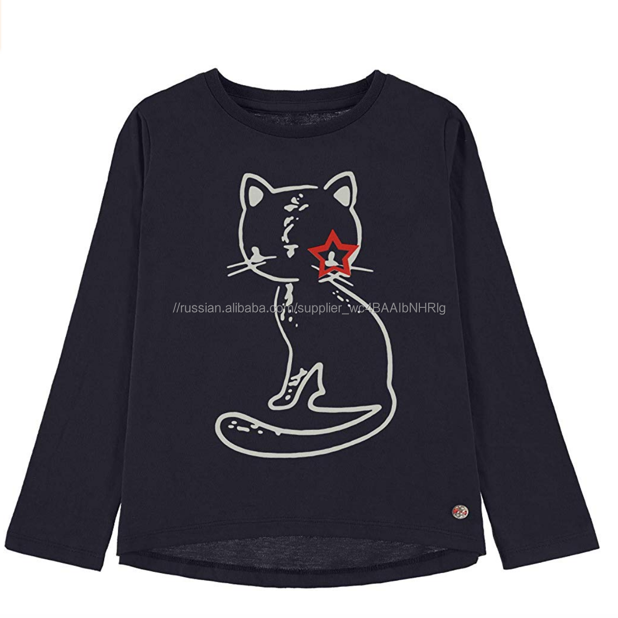 cotton printed children Clothes for ready to wear and screen print kids clothes