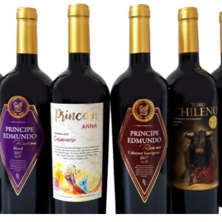 Personalized Chilean wine