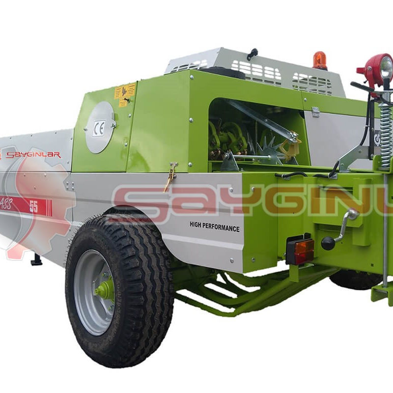 VERY GOOD QUALITY E-CLASS 55 SQUARE BALER MACHINE