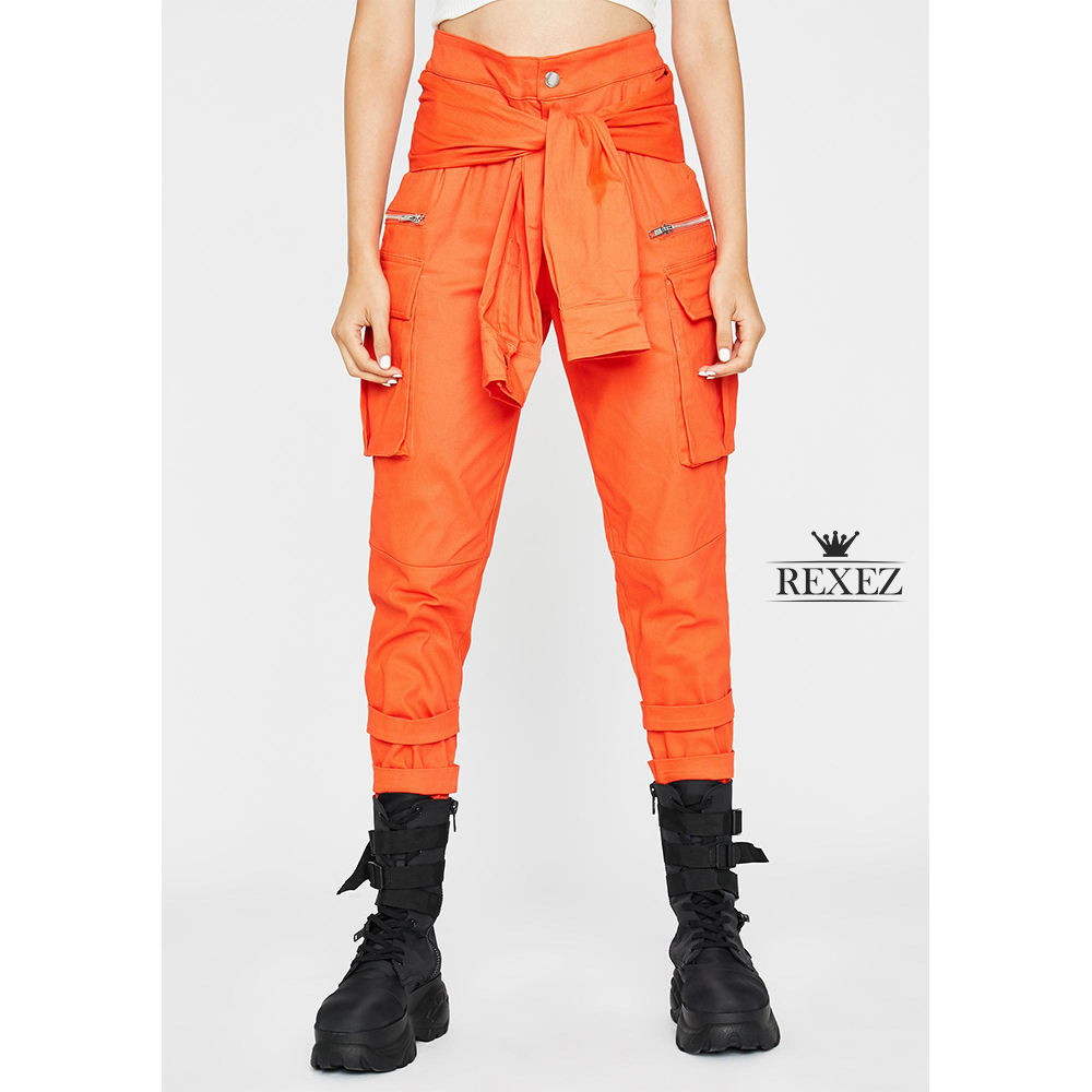 Hombre Pantalones de Chándal Reflectante Rayas Seguridad Trabajo Cargo Largos