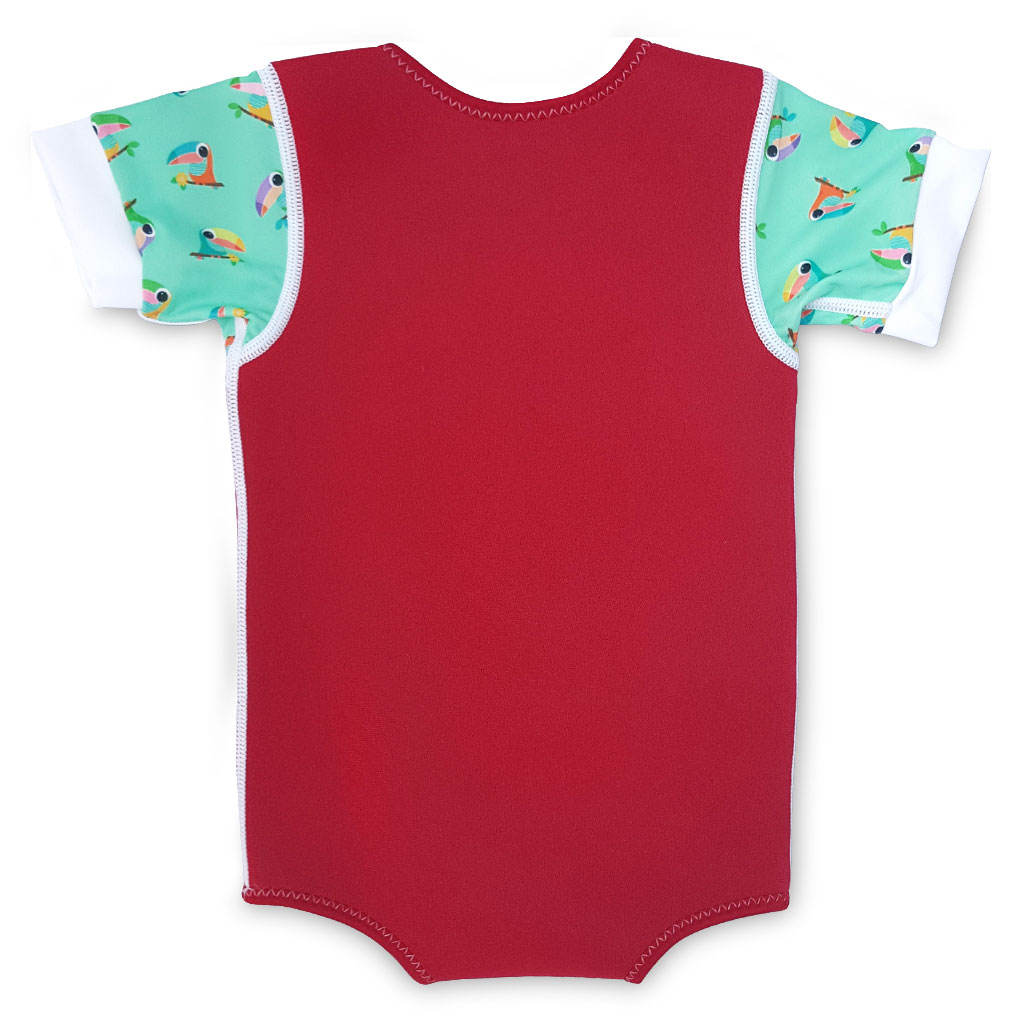 Kinder Neopren Thermal Badeanzug Water babes Wrap Red Toucan Kinder 2mm Neopren Neopren anzug Baby Neopren anzug