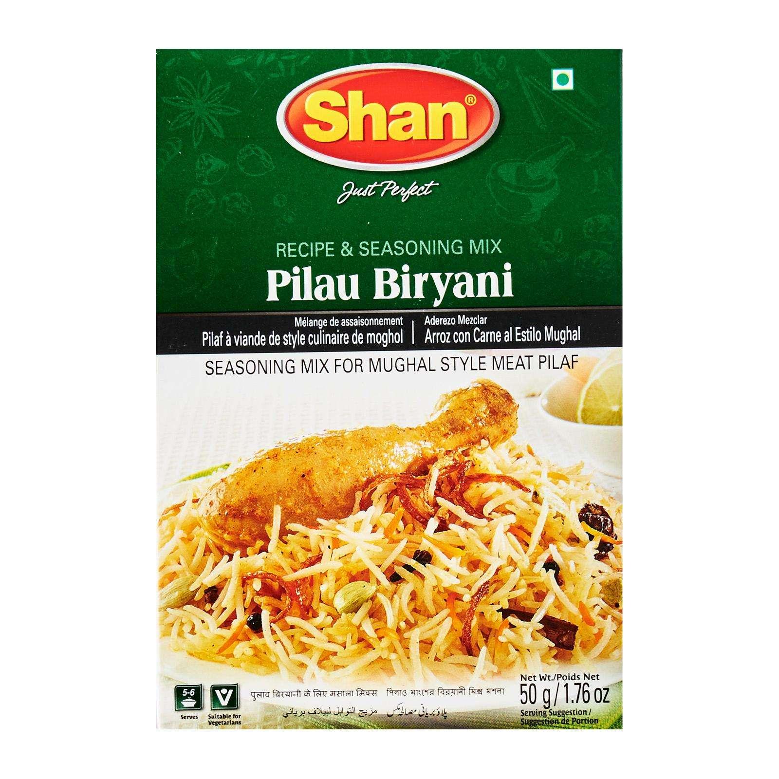 Tasty Shan Pulau Briyani Mix 50g Spices And Seasonings Wholesale 36 Months Shelf Life