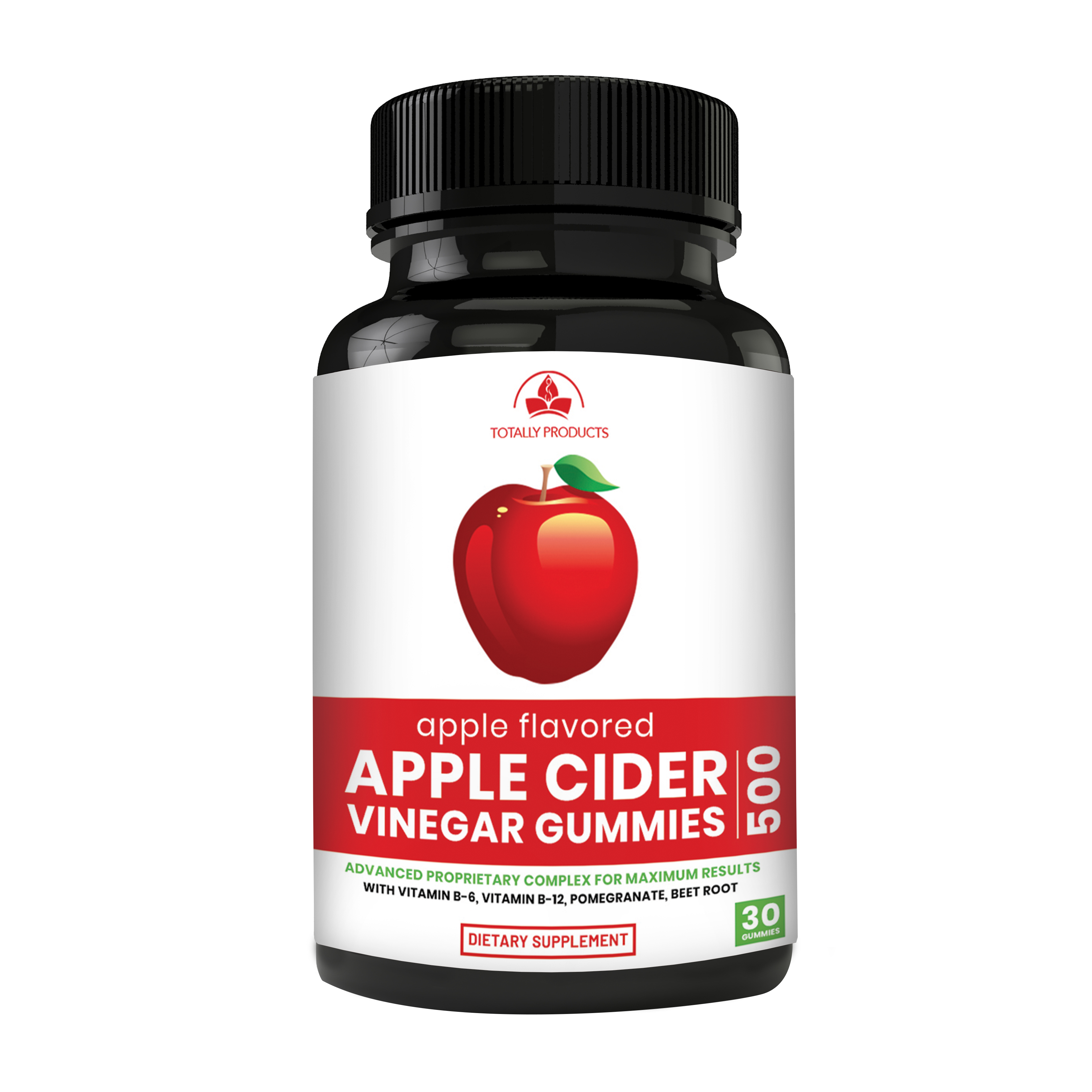 Apple Cider Vinegar Gummies with Pomegranate, Beet Root And Vitamin B6