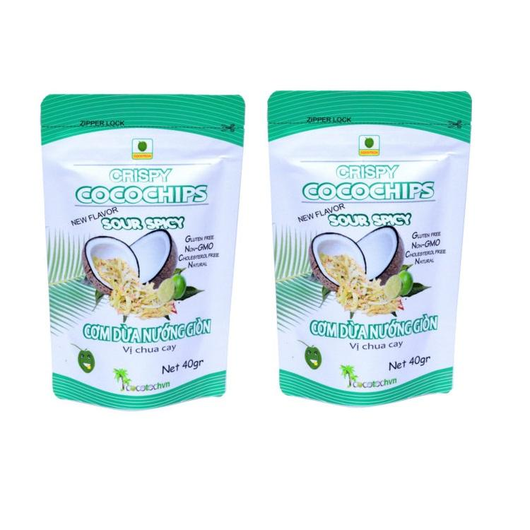Sour Spicy Flavor fruit and vegetable chips, Coconut Chips from Vietnam OEM Factory