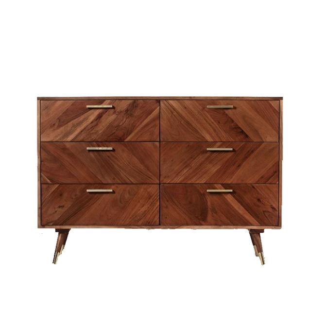 Indonesia's Best Ida Big Drawers Teak or Mahogany Wood Home Furniture