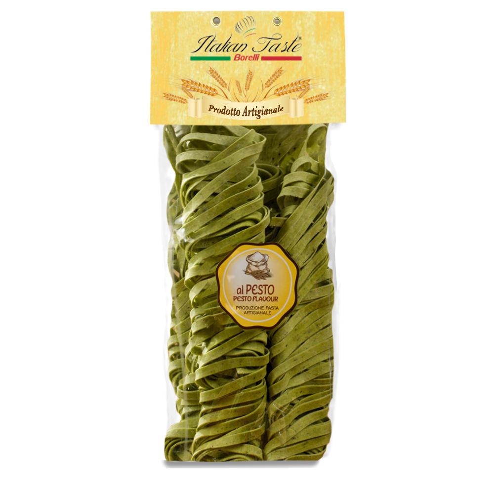 High quality 250 g Pesto Tagliatelle in plastic Bag Made in Italy NO GMO Italian traditional pasta