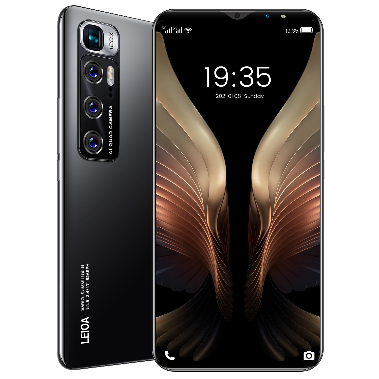 Hot Selling PHONE12 PRO MAX 8GB+256GB 6.7 Inch full Display Android 10.0 Mobile Phone I12 PRO Cell Phone Smartphone